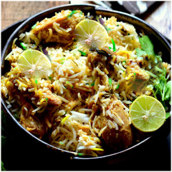 Chicken Mughalai Biryani